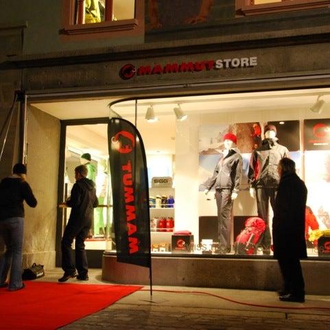 detailed look 3b7e5 e9a5b Photos at Mammut Store - Luzern, Luzern