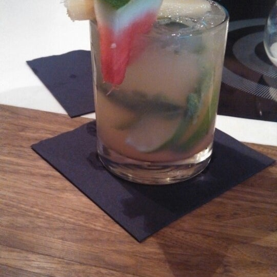 Ginger Merlin mojito cooling the summer heat :)