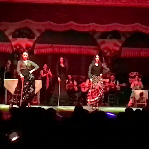 Foto tomada en Tablao Flamenco El Palacio Andaluz por Iskender B. el 3/4/2018