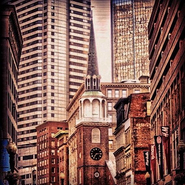 8/2/2013 tarihinde Alfredo R.ziyaretçi tarafından Old South Meeting House'de çekilen fotoğraf