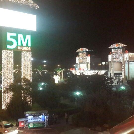Снимок сделан в Antalya Migros AVM пользователем Ahmet Y. 12/27/2014