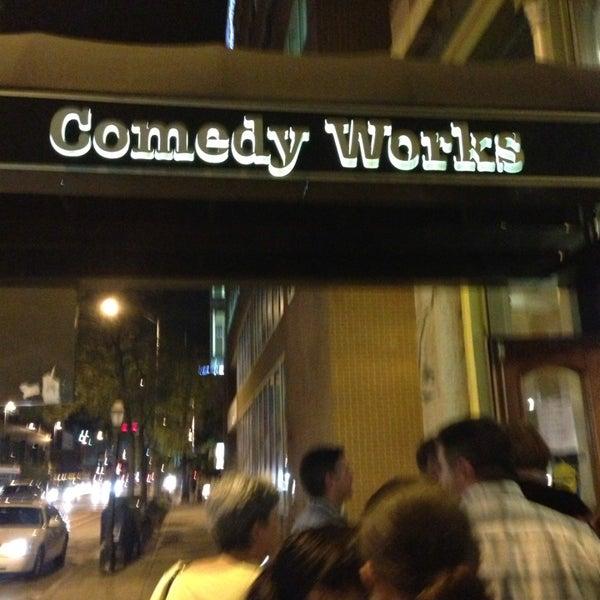 8/31/2013 tarihinde GayeLynn_Mziyaretçi tarafından Comedy Works Downtown in Larimer Square'de çekilen fotoğraf