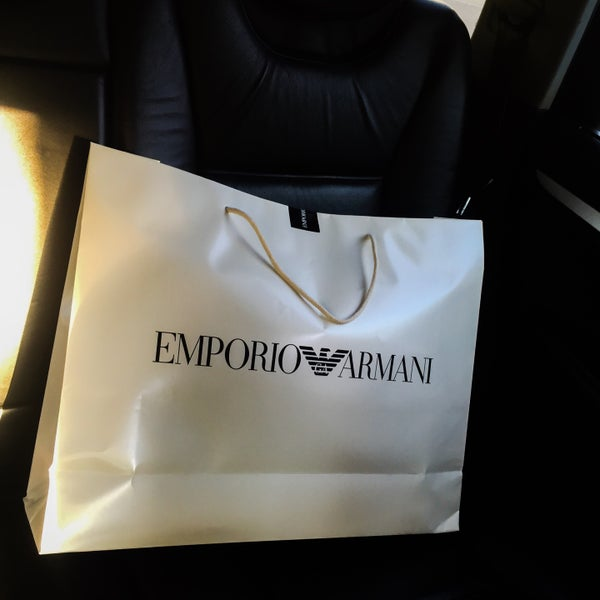 Photo taken at Emporio Armani by Santa F. on 7 29 2016 5c4f89a371688