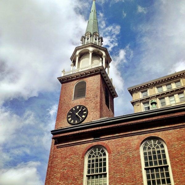 4/13/2013 tarihinde Brian W.ziyaretçi tarafından Old South Meeting House'de çekilen fotoğraf