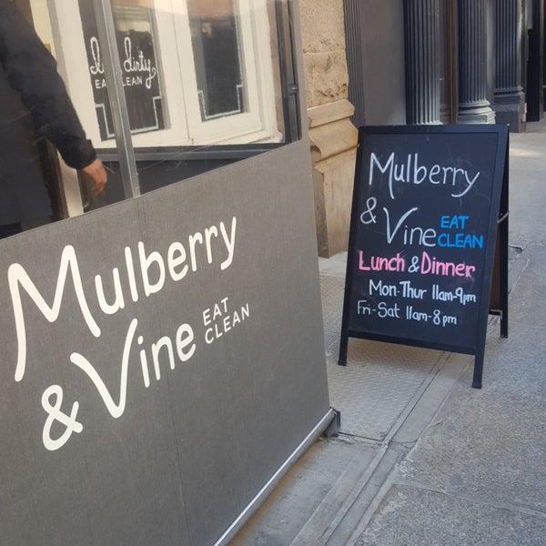 Foto tomada en Mulberry & Vine por Grace S. el 2/28/2018