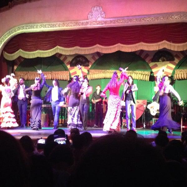 Foto tomada en Tablao Flamenco El Palacio Andaluz por Pınar Ş. el 7/23/2015