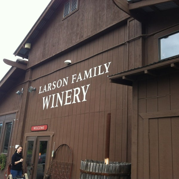 Das Foto wurde bei Larson Family Winery von Jordan W. am 12/29/2012 aufgenommen