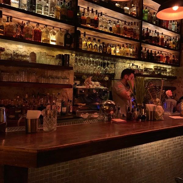 Photo taken at EL BARÓN - Café & Liquor Bar by Noah W. on 1/17/2019