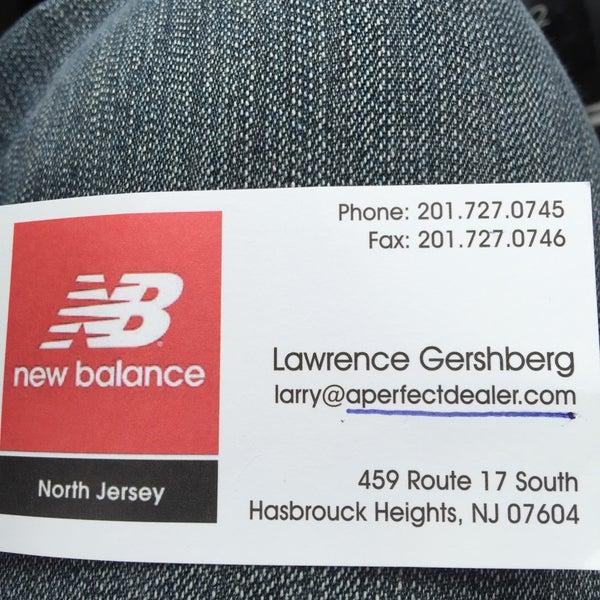 new balance store hasbrouck heights nj