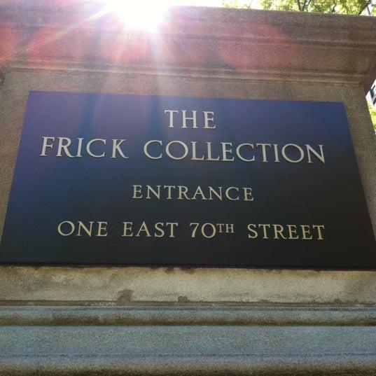 5/12/2012 tarihinde Bonnie F.ziyaretçi tarafından The Frick Collection'de çekilen fotoğraf