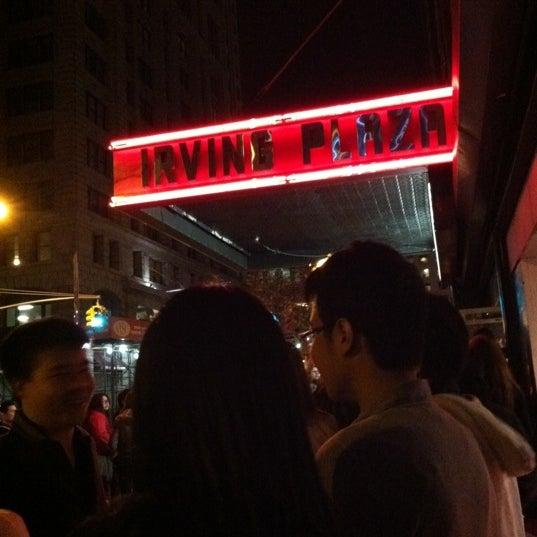 Das Foto wurde bei Irving Plaza von /\ㅌ¥J T. am 3/26/2012 aufgenommen