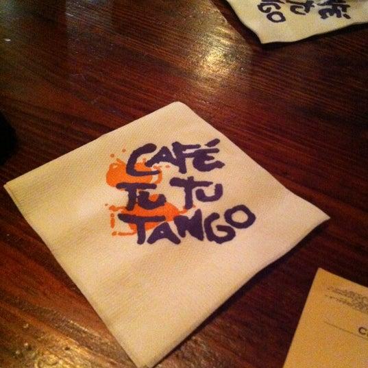 Foto diambil di Café Tu Tu Tango oleh Ashley C. pada 5/7/2012