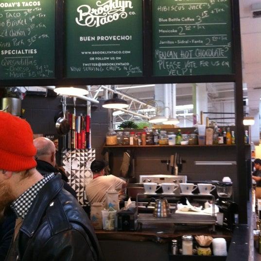 Снимок сделан в Brooklyn Taco Company пользователем Mike T. 3/2/2012