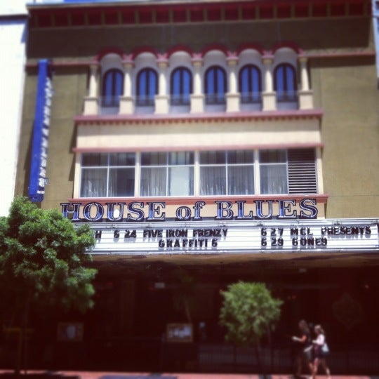 Foto tirada no(a) House of Blues San Diego por Joel G. em 6/25/2012