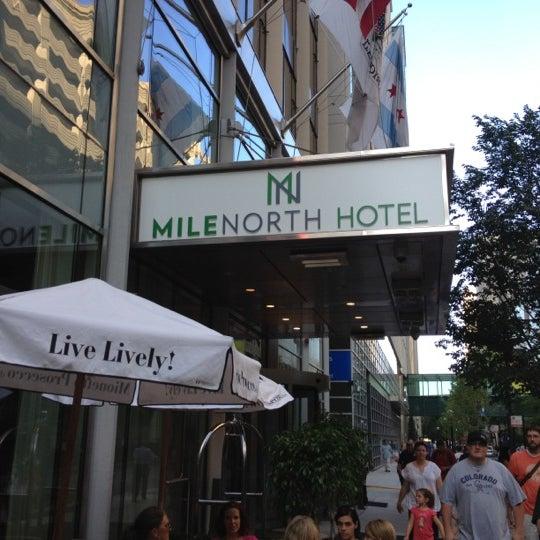 6/20/2012 tarihinde Brian C.ziyaretçi tarafından MileNorth, A Chicago Hotel'de çekilen fotoğraf
