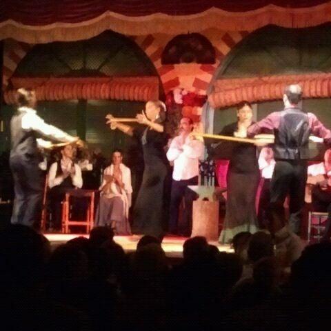 Foto tomada en Tablao Flamenco El Palacio Andaluz por Adrienne el 9/10/2012
