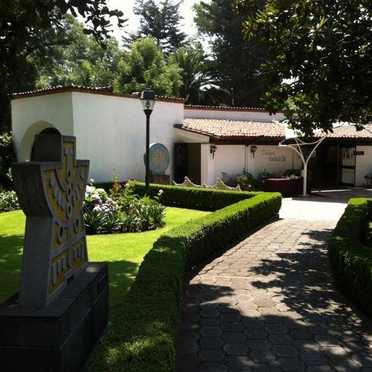 """Foto diambil di Museo Nacional de la Acuarela """"Alfredo Guati Rojo"""" oleh Andru Я. pada 6/13/2012"""