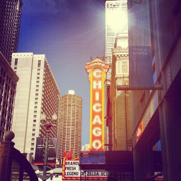 10/11/2012에 Randall M.님이 The Chicago Theatre에서 찍은 사진