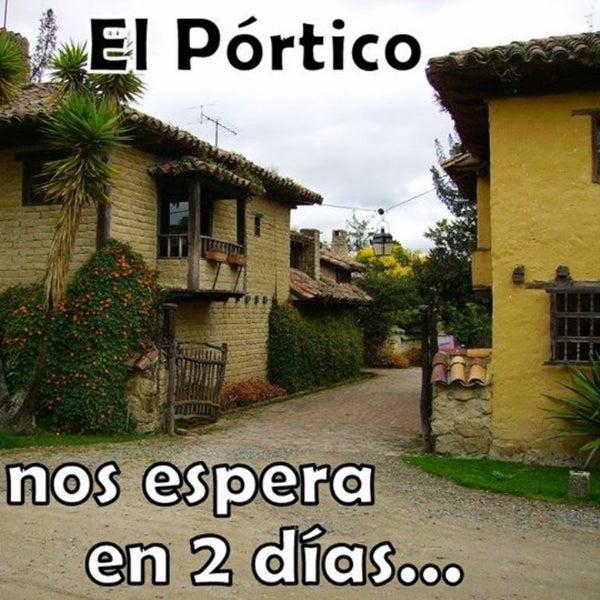 Das Foto wurde bei El Pórtico von Yudy B. am 8/16/2014 aufgenommen