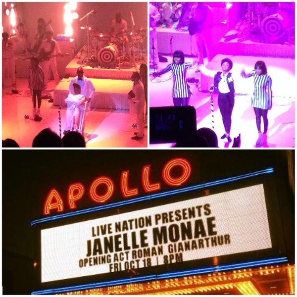 Das Foto wurde bei Apollo Theater von Natalie U. am 10/19/2013 aufgenommen