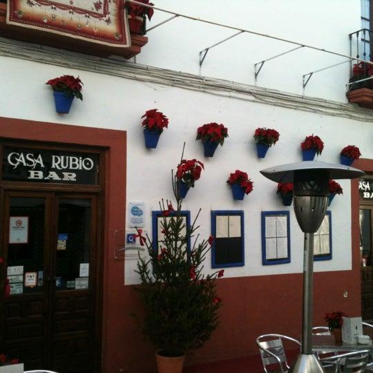 12/12/2012 tarihinde Javier L.ziyaretçi tarafından Casa Rubio'de çekilen fotoğraf