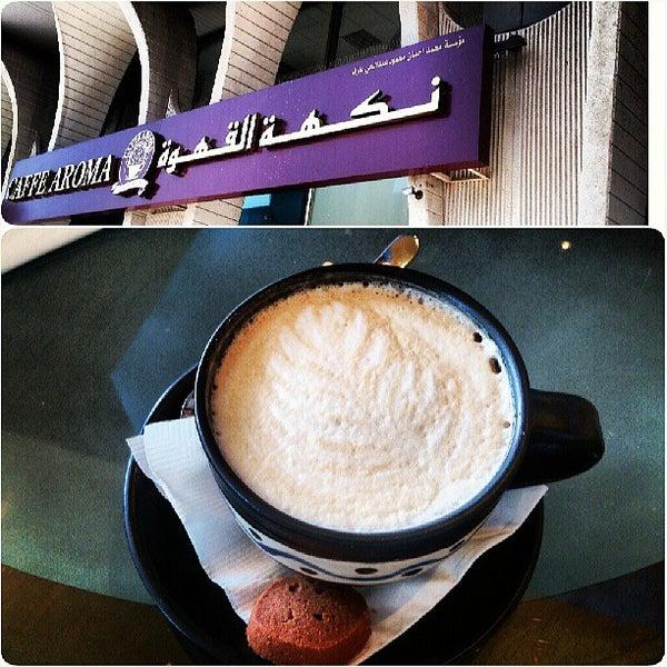 5/31/2013 tarihinde Abdullah Y.ziyaretçi tarafından Caffe Aroma Ksa'de çekilen fotoğraf