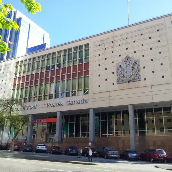 Post Office In Downtown Vancouver
