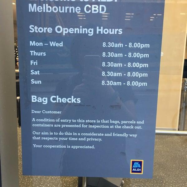 Aldi stores in melbourne cbd