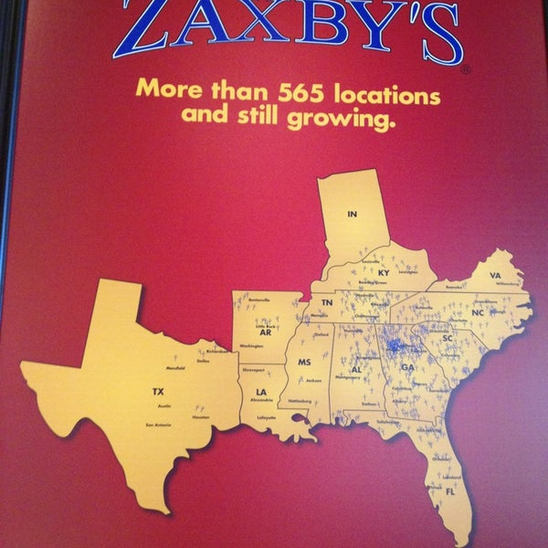 Photos at Zaxby's en Fingers & Buffalo Wings - Fried ... on chuck e cheese map, longhorn steakhouse map, chic fil a map, bojangles map, petco map, motel 6 map, quiznos map, ihop map, cici's pizza map, little caesars map, panera bread map, kfc map, papa johns map, golden corral map, chipotle map,