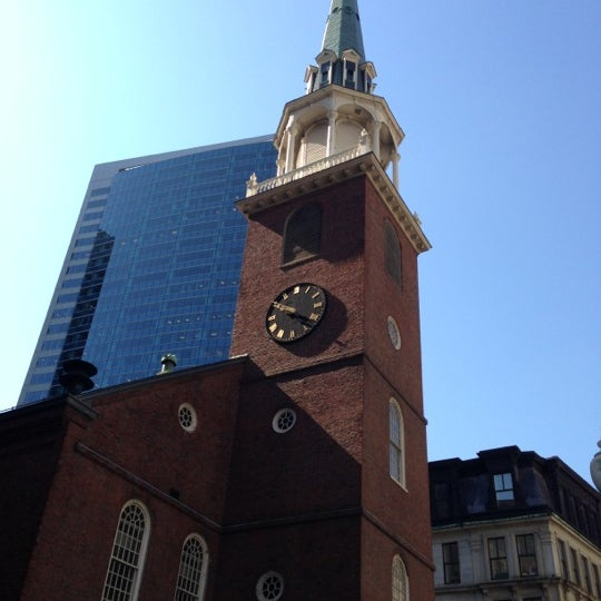 5/2/2013 tarihinde Reina Q.ziyaretçi tarafından Old South Meeting House'de çekilen fotoğraf