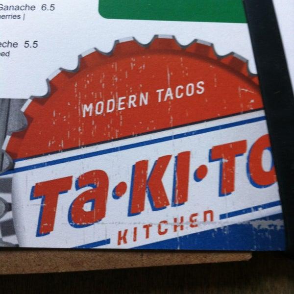 4/12/2014 tarihinde Cody R.ziyaretçi tarafından Takito Kitchen'de çekilen fotoğraf