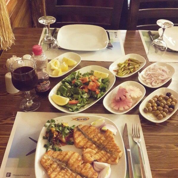 4/2/2015 tarihinde Fuat D.ziyaretçi tarafından Ekonomik Balık Restaurant Avanos'de çekilen fotoğraf