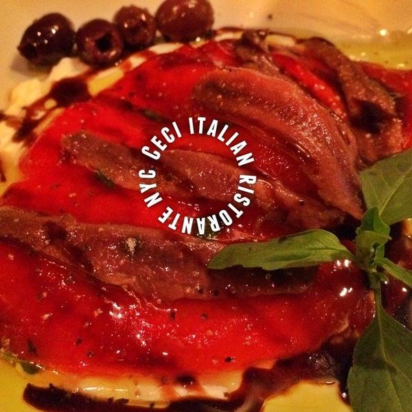 Снимок сделан в Ceci Italian Cuisine пользователем Cecilia W. 8/10/2014