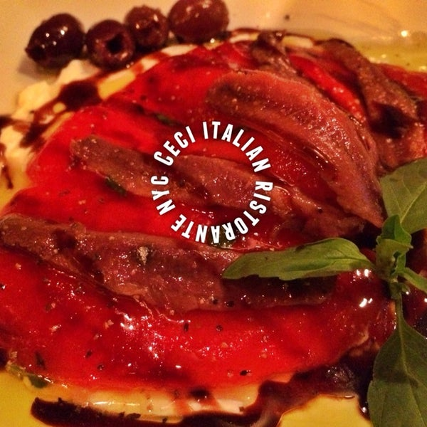 Beautifully plated and delicious Italian meals at a reasonable price