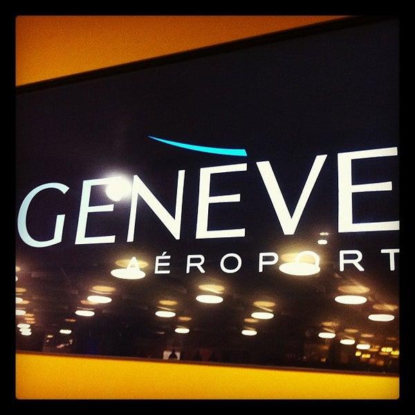 Photo prise au Aéroport de Genève Cointrin (GVA) par Philippe D. le1/18/2013