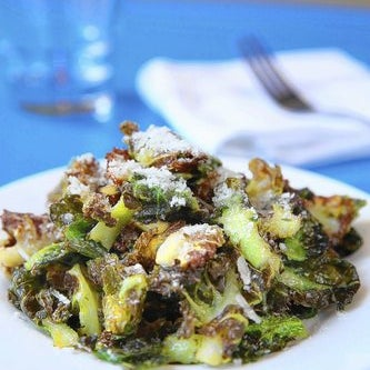 "Crispy Brussels sprouts ($5) are ""without question our No. 1 seller at the restaurant."""