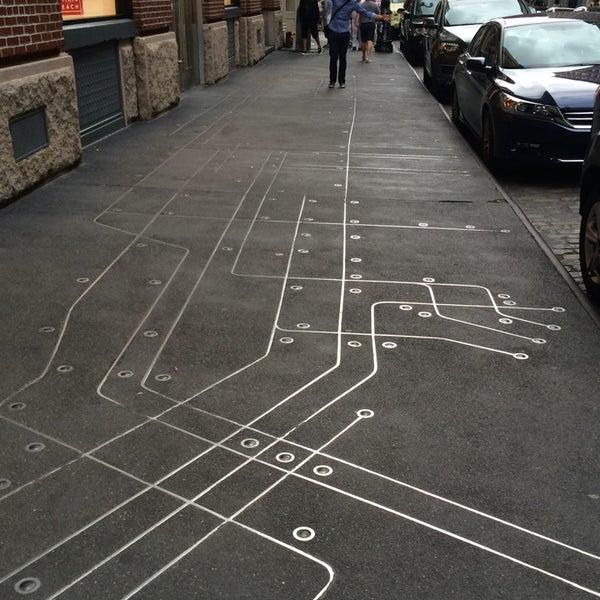 Subway Map Floating On A New York Sidewalk.Photos At Subway Map Floating On A New York Sidewalk Soho 1 Tip