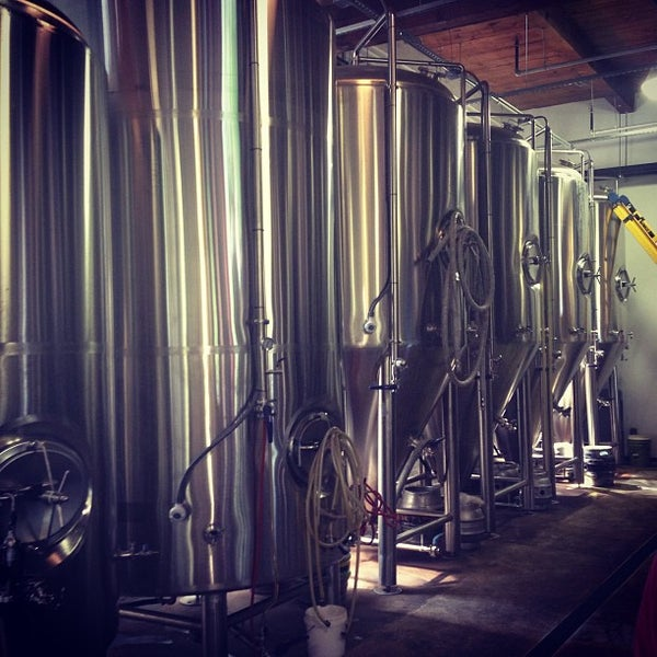 Photo taken at Union Craft Brewing by Jillian C. on 6/15/2013