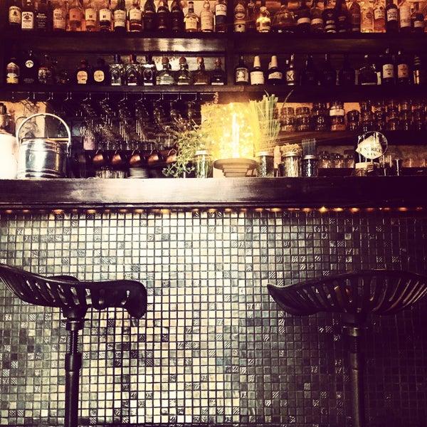 Photo taken at EL BARÓN - Café & Liquor Bar by Alexandra L. on 4/22/2015