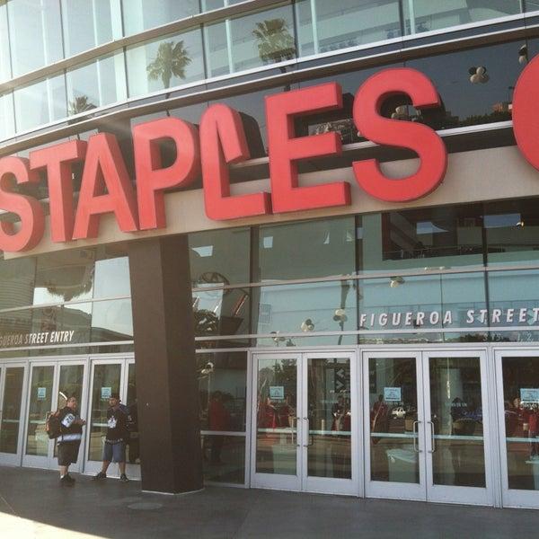 5/17/2013 tarihinde Paul G.ziyaretçi tarafından STAPLES Center'de çekilen fotoğraf