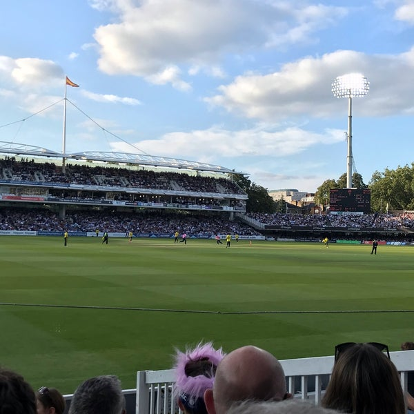 Foto tomada en Lord's Cricket Ground (MCC)  por Cookie el 8/22/2019