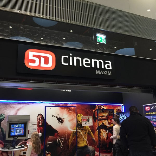 a5356a953 Photo taken at 5D Cinema MAXIM by Lubo S. on 12/27/2014