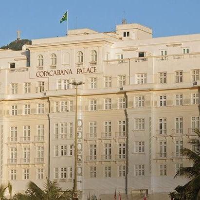 3/11/2014에 Belmond Copacabana Palace님이 Belmond Copacabana Palace에서 찍은 사진