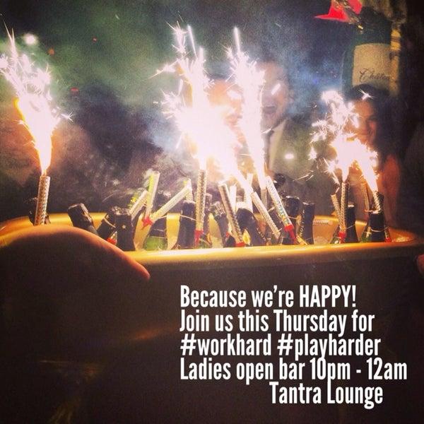 รูปภาพถ่ายที่ Tantra Lounge โดย Tantra Lounge nyc เมื่อ 3/3/2014