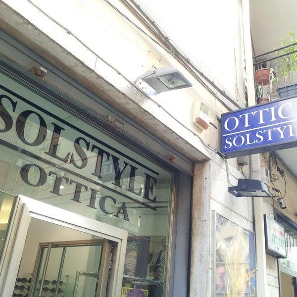 Foto scattata a Ottica Solstyle da Giancarlo M. il 5/23/2013