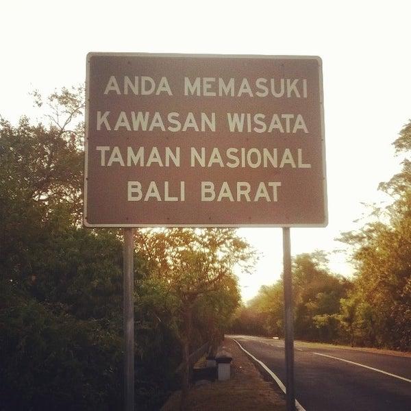 Taman Nasional Bali Barat Negara Bali