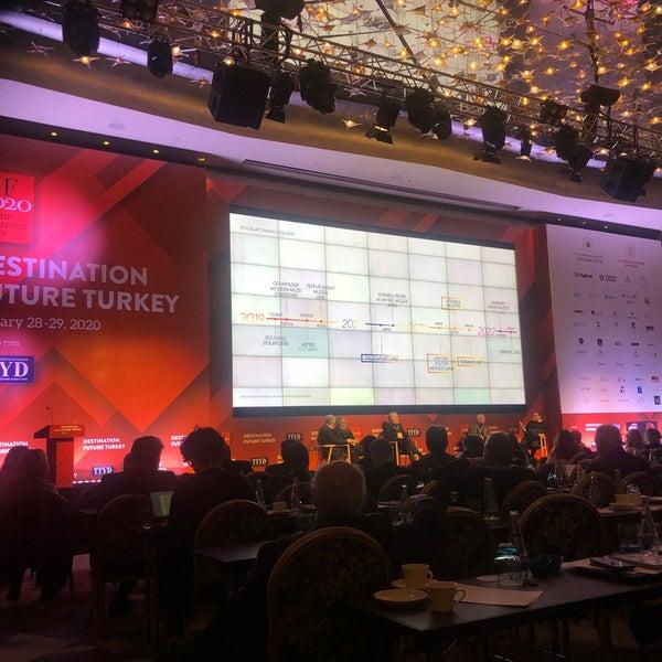 1/28/2020에 Sinan K.님이 Raffles Istanbul Zorlu Center에서 찍은 사진