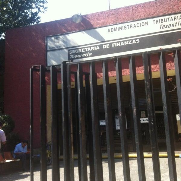 Tesorería Gdf Iztacalco Tezontle