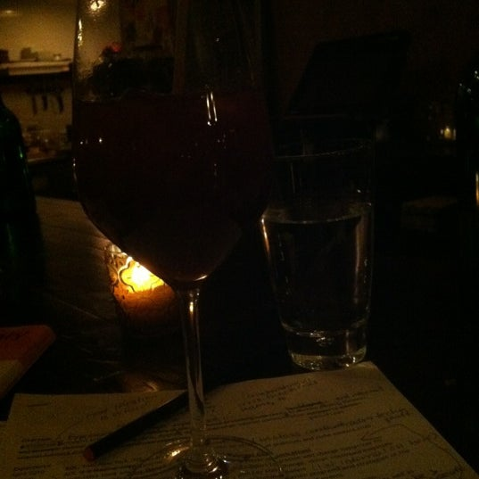 Try the sangria, every glass is made to order. :)