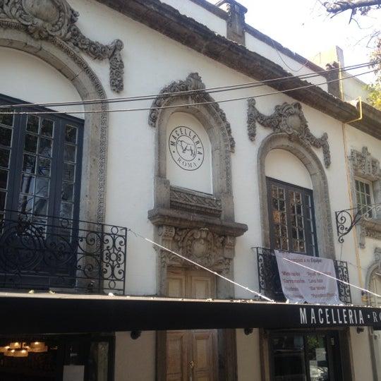 Das Foto wurde bei Macelleria von Enrique C. am 12/16/2012 aufgenommen